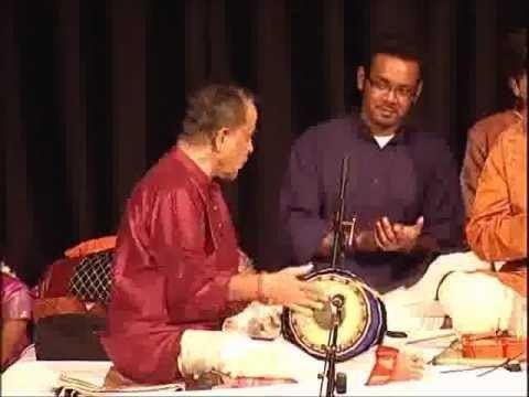 Trichy Sankaran Mridangam Maestro Trichy Sankaran And RN Prakash Thani