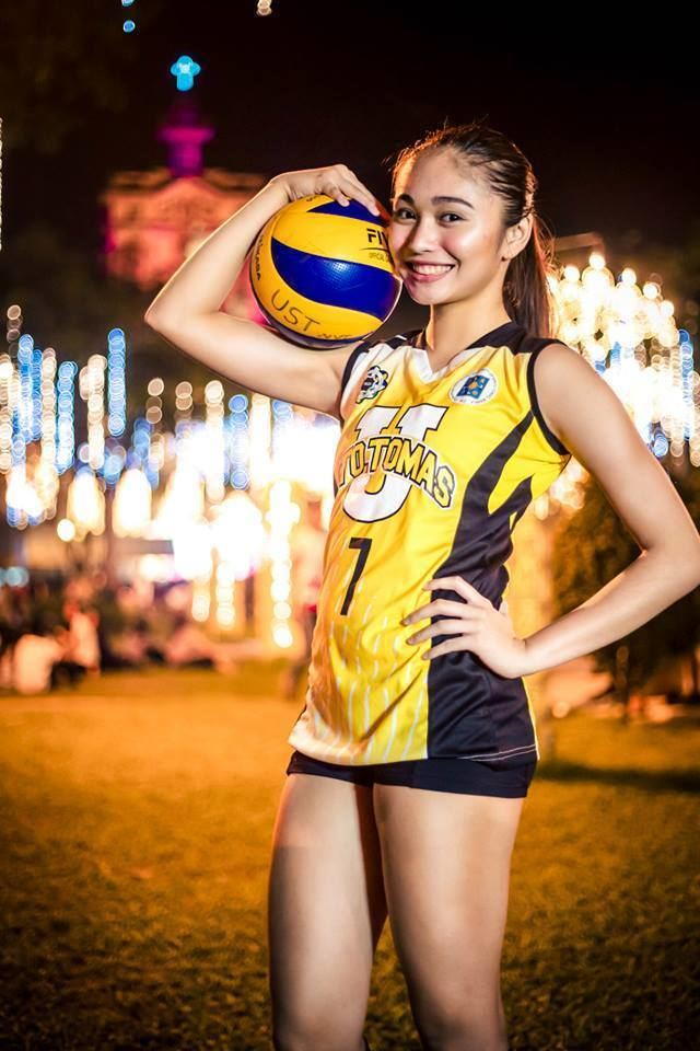Tricia Santos (volleyball) The New Face of UAAP Volleyball Tricia Santos of UST