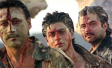 Trimurti (film) Shah Rukh Khan39s biggest hits and flops Rediffcom Movies