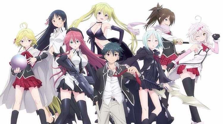 Trinity Seven Trinity Seven Anime Amino