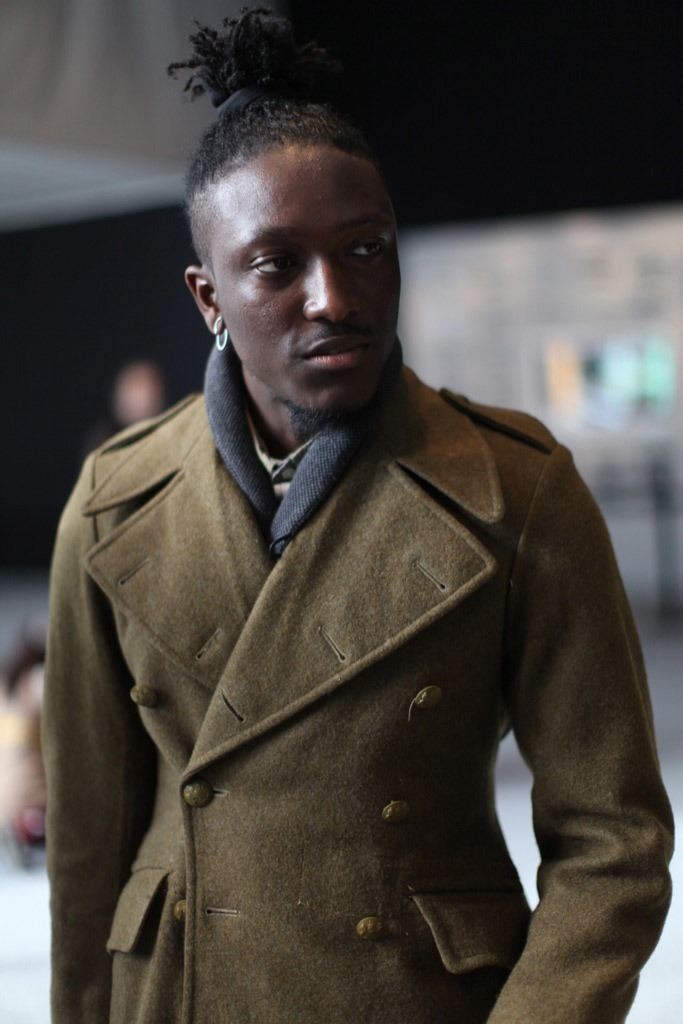 Joshua Kissi Nordstrom Men39s Blog Street Etiquette NYFW Photo