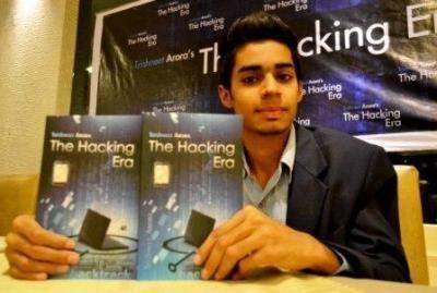 Trishneet Arora LAUNCH OF Trishneet Arora39s book titled The Hacking Era