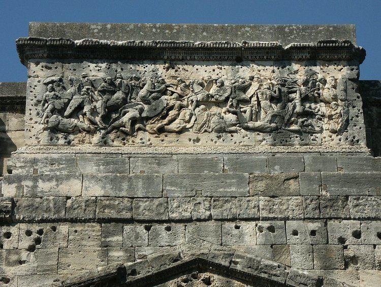 Triumphal Arch of Orange Images of the Roman Triumphal Arch at Orange France