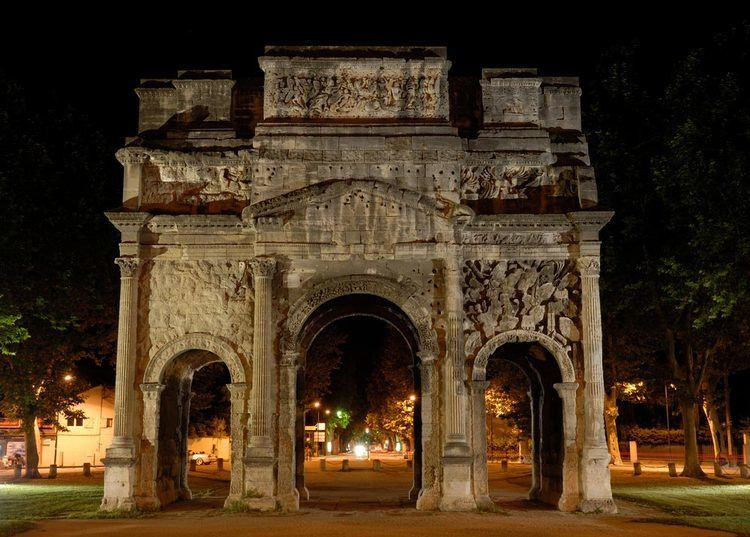 Triumphal Arch of Orange Triumphal Arch of Orange France Map Facts Location Where is