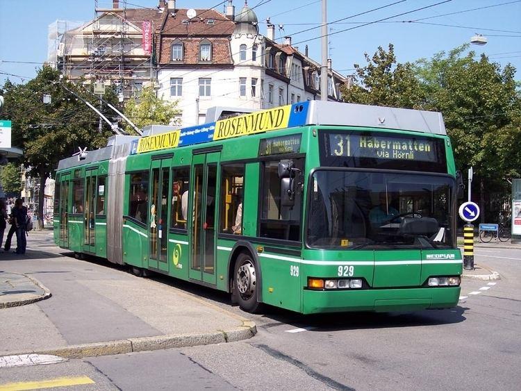 Trolleybuses in Basel