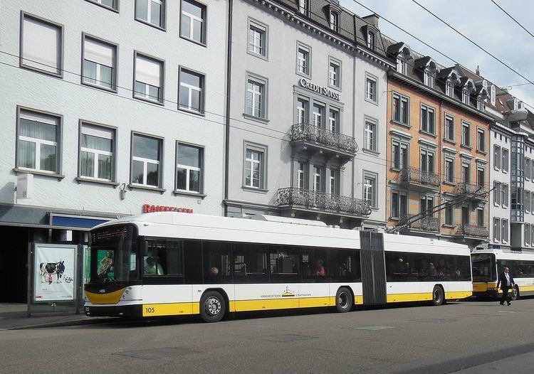 Trolleybuses in Schaffhausen