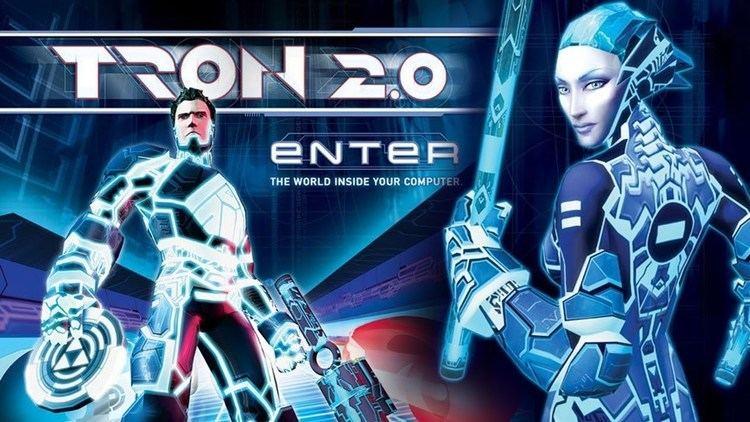 Tron 2.0 Tron 20 PC Game Review YouTube