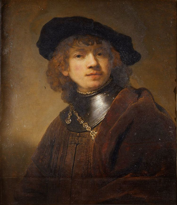 'Tronie' of a Young Man with Gorget and Beret