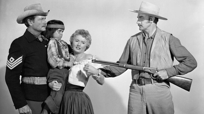Trooper Hook Great Western Movies