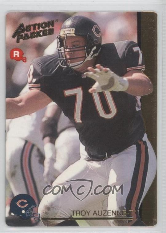 Troy Auzenne 1992 Action Packed Rookie Update Base 22 Troy Auzenne COMC