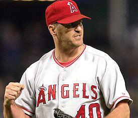 Troy Percival Troy Percival Legendary Angels closing pitcher Angels Baseball