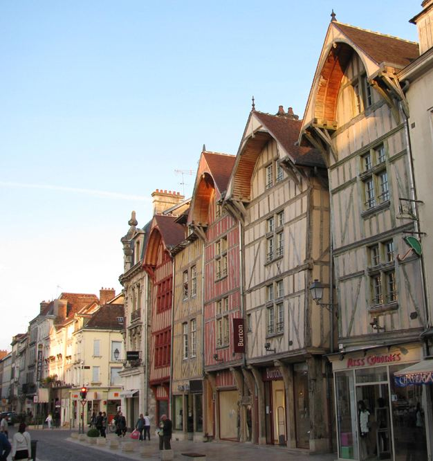 Troyes in the past, History of Troyes