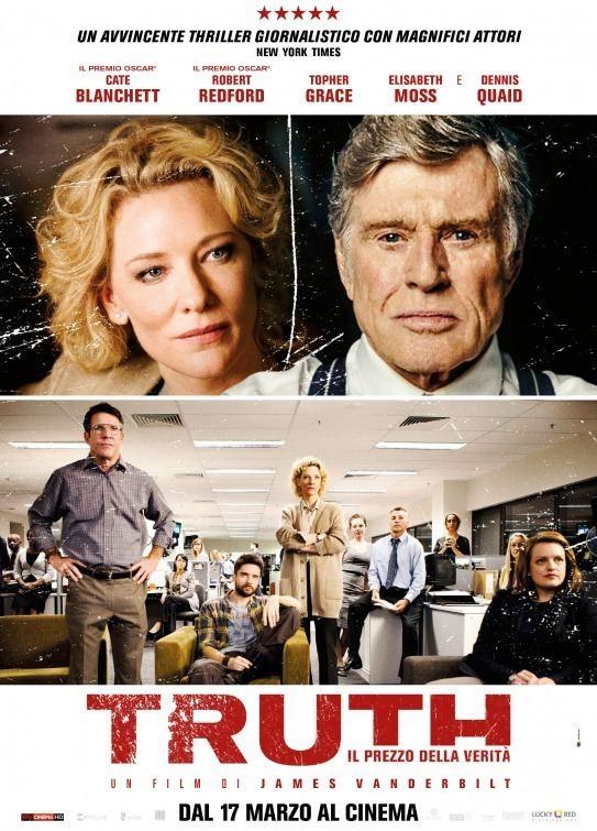 Truth (2015 film) Truth Movie Poster 3 of 4 IMP Awards