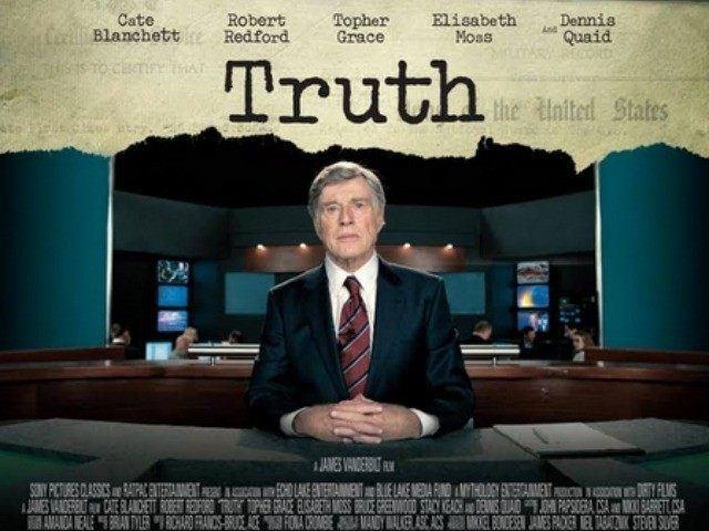 Truth (2015 film) CBS BANS ADS FOR ROBERT REDFORDS DAN RATHER TRUTH FILM