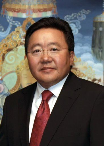 Tsakhiagiin Elbegdorj Tsakhiagiin Elbegdorj Harvard Political Review