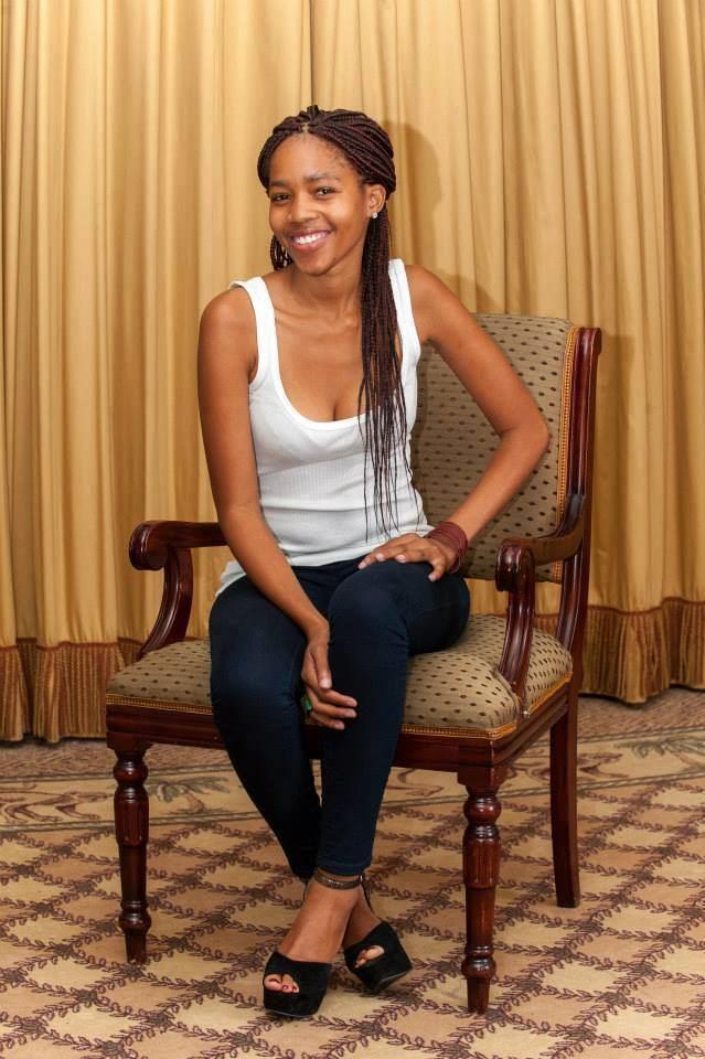 Tsaone Macheng O Universo dos concursos Miss Botswana Universe 2013 Tsaone Macheng