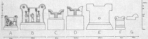 Tukulti-Ninurta I Stepped socles of Assur Meluhha hieroglyphs of metalwork in Kar