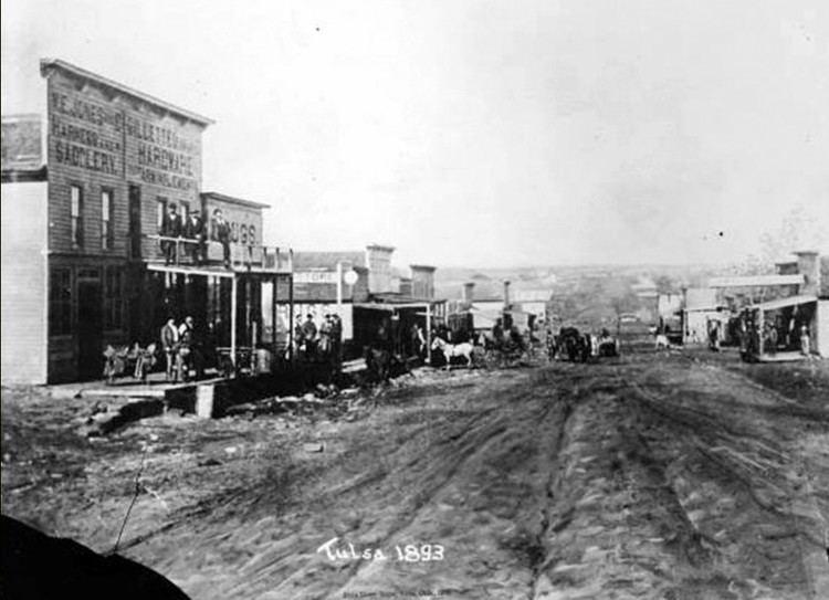 Tulsa, Oklahoma in the past, History of Tulsa, Oklahoma