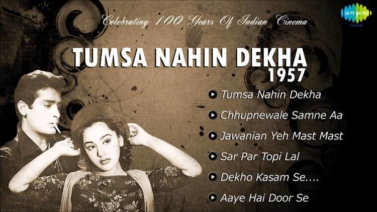 Tumsa Nahin Dekha 1957 All Songs Shammi Kapoor Ameeta Music