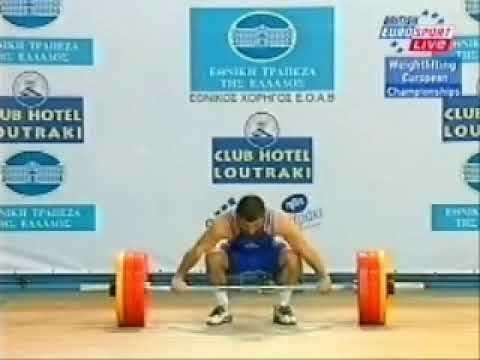 Turan Mirzayev Frank Rothwells Olympic Weightlifting History Turan Mirzayev2003