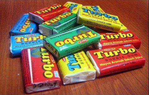 Turbo (chewing gum) TURBO short introduction My Bubble Gum Inserts Collection