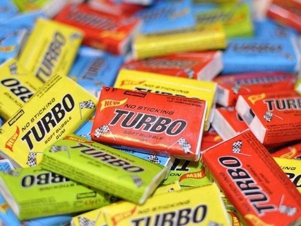 Turbo (chewing gum) Turbo Bubble Gum Tastes like childhood