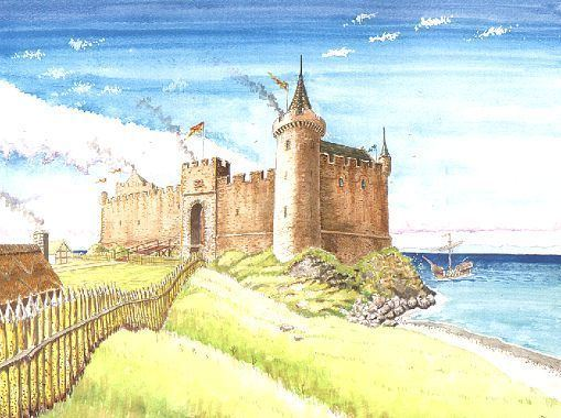 Turnberry Castle Reconstruction of Turnberry Castle