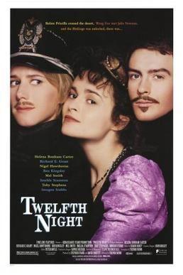Twelfth Night (1986 film) Twelfth Night 1996 film Wikipedia