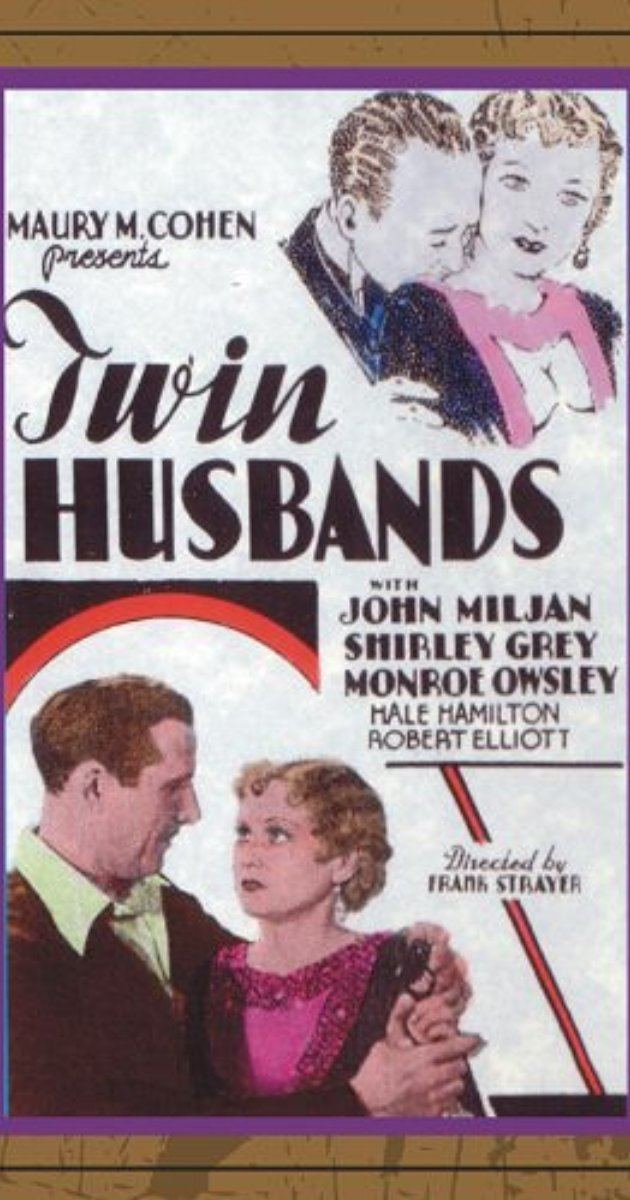 Twin Husbands 1933 IMDb
