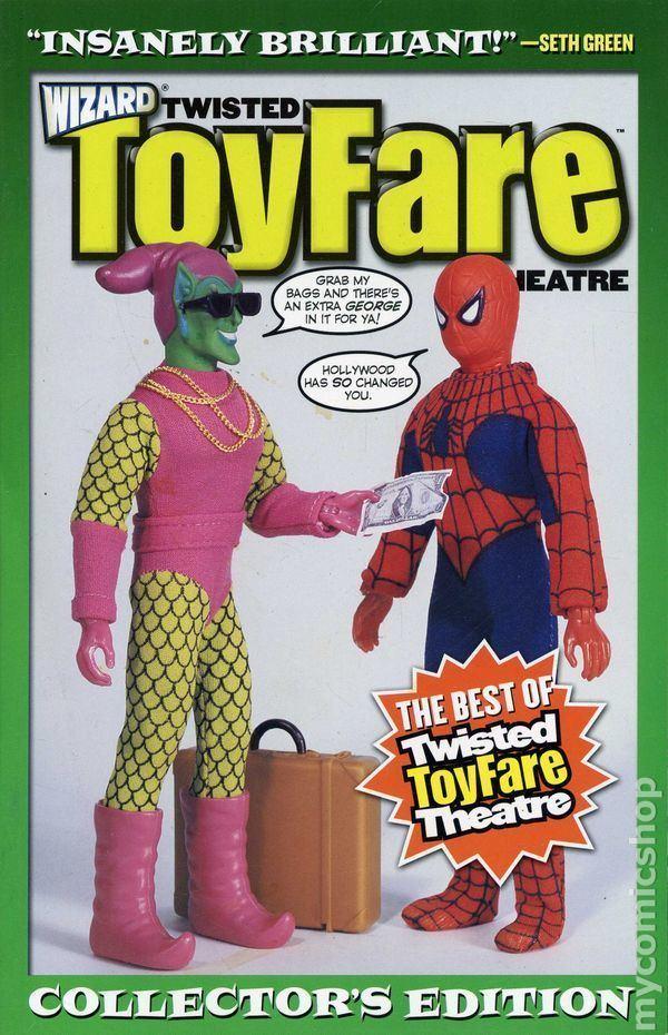 Twisted ToyFare Theatre Twisted Toyfare Theatre TPB 20012010 Wizard comic books
