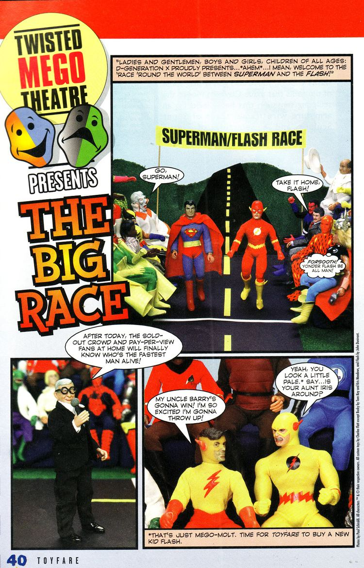 Twisted ToyFare Theatre Twisted Mego Theater MegoCentral