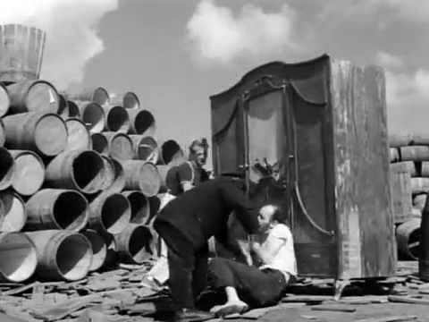 Two Men and a Wardrobe Two Men and a Wardrobe Dwaj ludzie z szaf 1958 by Roman