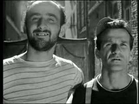Two Men and a Wardrobe 1958 Dwaj ludzie z szafa Two Men and a Wardrobe 1 of 2 YouTube