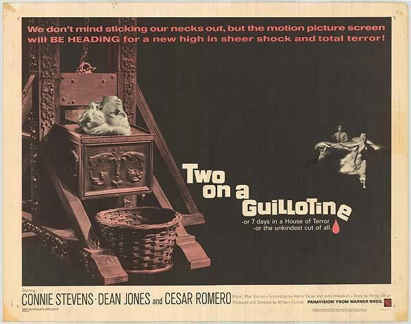 Two On A Guillotine movie posters at movie poster warehouse