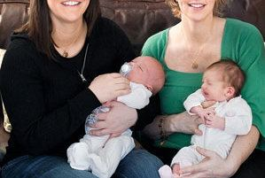 Two Women Two Women Two Babies One Family Real Simple