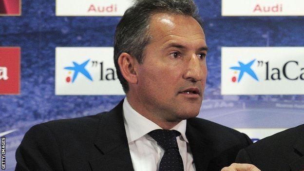 Txiki Begiristain BBC Sport Manchester City appoint Txiki Begiristain as