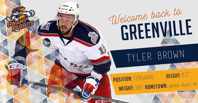 Tyler Brown Swamp Rabbits Add Tyler Brown To Roster