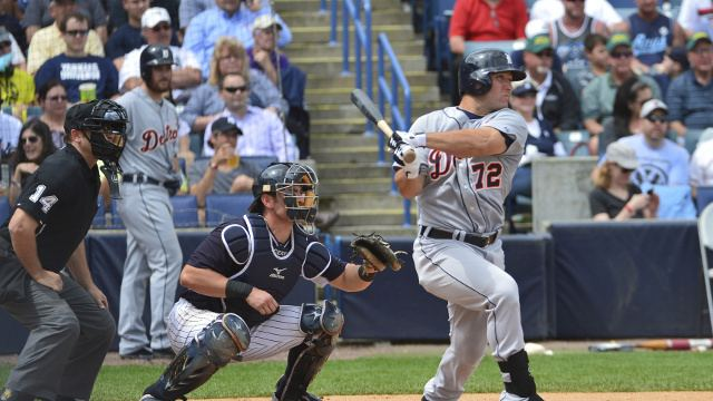 Tyler Collins Tyler Collins Making A Strong Case To Make Detroit Tigers