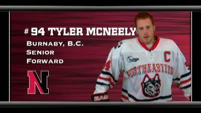 Tyler McNeely Northeastern Huskies Tyler McNeely 201011 Men39s Ice