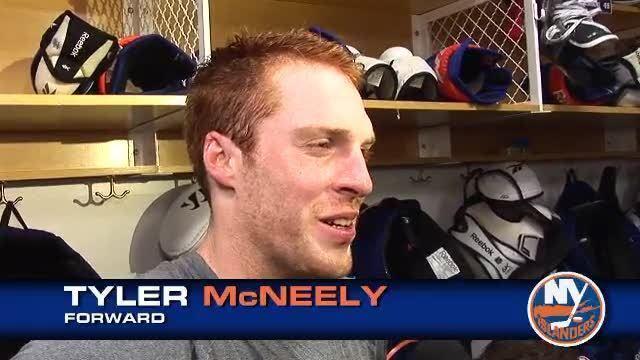 Tyler McNeely Tyler McNeely Post Game 91311 Video NHL VideoCenter