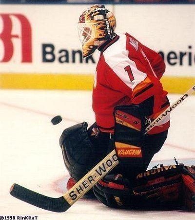 Tyler Moss Calgary Flames goaltending history Tyler Moss