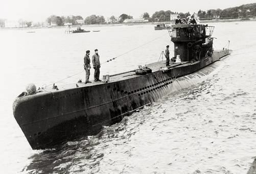 U-boat 40 Stunning Images of the 70th Anniversary of the Surrender of the