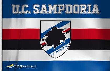 U.C. Sampdoria UC Sampdoria Flag to buy Sampdoria Genoa flag