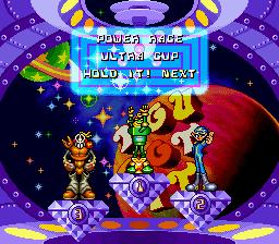 Uchuu Race: Astro Go! Go! Uchuu Race Astro Go Go SNES Super Nintendo Game by Meldac