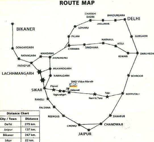 Udaipurwati in the past, History of Udaipurwati