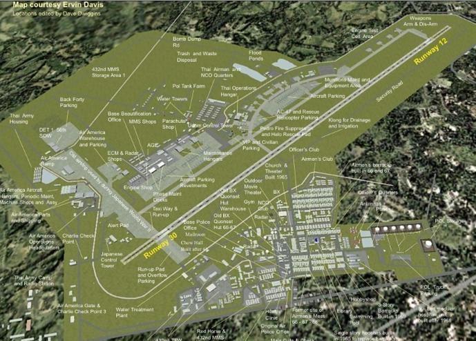 Udorn Royal Thai Air Force Base Sawadee ka Udorn Royal Thai AFB