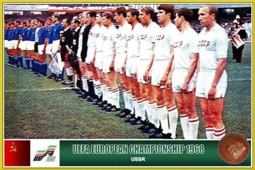 UEFA Euro 1968 Fan pictures European Football Championship 1968 Soviet Union Team