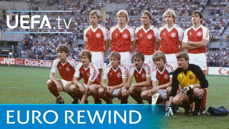 UEFA Euro 1984 EURO 1984 highlights Denmark 32 Belgium YouTube