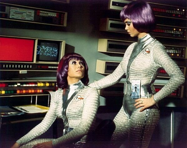 UFO (TV series) gerry anderson What39s the reason for the purple hair on the
