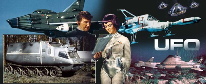 UFO (TV series) UFO TV series yep watched itin reruns SiFi Pinterest TVs